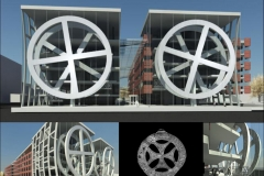 55 SUN WHEEL dynamic facade